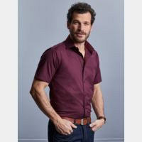 Men's Short Sleeve Easy Care Fitted Shirt Thumbnail