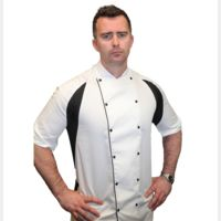 Le Chef Mens Thermocool Chefs Jacket Thumbnail