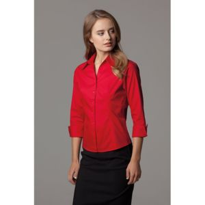 Women's corporate Oxford shirt ¾-sleeved (tailored fit) Thumbnail