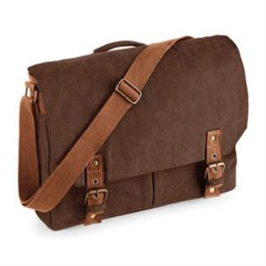 Vintage canvas satchel messenger Thumbnail